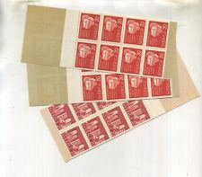 Sweden 1961 Stamp Pane Lot Of 3