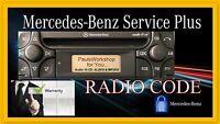 # Radio Code für Mercedes Alpine AUDIO 10 CD MF2910  AL2910 KEY CODE