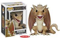 """Game Of Thrones Viserion 6"""" Pop Vinyl Figura tallas grandes NUEVO 47 Vendedor GB"""