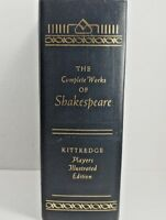 The Complete Works of William Shakespeare 1936 HC Kittredge Players Edition VG