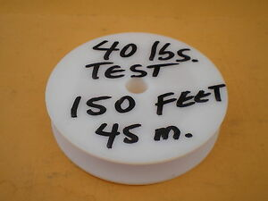 STAINLESS STEEL WIRE LEADER 150' FEET (45 m.) 40 lbs. TEST, 1X7 STRAND (CLEAR)