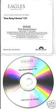 eagles - busy being fabulous accetate promo cd rare