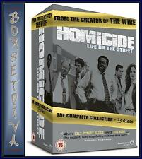 HOMICIDE LIFE ON THE STREET - COMPLETE SERIES COLLECTION**BRAND NEW DVD BOXSET**
