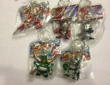 Kamen Masked Rider Ryuki 5 Key chain set Banpresto RARE