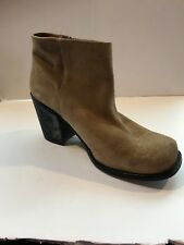 Office Tan Ankle Bootie. Size 8