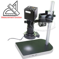 Measuring + Scale 12MP 1080P 60FPS HDMI Digital Industrial Microscope Camera AU