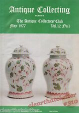 COCKPIT HILL POTTERY - MAPS John Ogilby - Antique Collecting Magazine May 1977