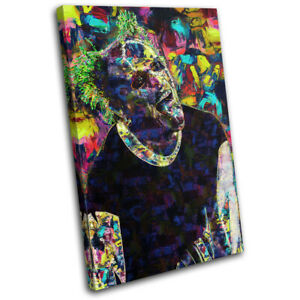 Prodigy Keith Flint Punk DJ Club SINGLE CANVAS WALL ART Picture Print