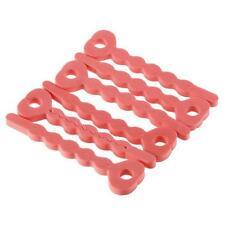 6Pcs Pink Sleeping Vogue Curls Sponge Hair Curlers Curling