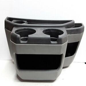 08 09 10 11 12 13 14 Ford E150 E250 E350 front center console cup holder OEM