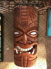 New Fang Tiki Mask Smokin' Tikis Hawaii 51317