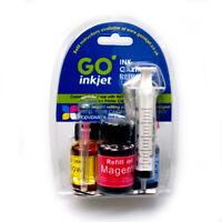 HP 301 Colour Printer Ink Cartridge Refill Kit for Refilling HP 301 Cartridges