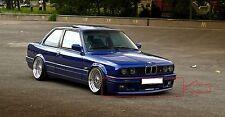 BMW 3 E30 M TECHNIC 2/M Tech 2 LOOK FRONT BUMPER SPOILER / LIP (2 piece)