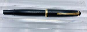 VTG 1956 MONTBLANC 342 Piston Filler OM 585 GOLD Nib flexible OB FOUNTAIN PEN