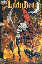 Lady Death Dark Alliance #1 By Ostrander & Reis - Low Print Run Chaos! Nm/M 2002