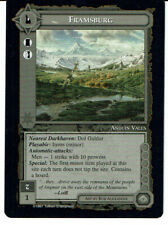 MIDDLE EARTH THE AGAINST THE SHADOW RARE CARD FRAMSBURG grade 9/10