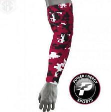 Titanium Baseball Sports Compression Dri-Fit Arm Sleeve (Burgandy Digital Camo)