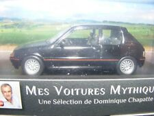 Peugeot 205 GTi in Black with Black leather Atlas Editions MVM 1:43rd New item