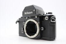 【 MINT SN:7487307 】 NIKON F2 Photomic Black Body SLR Film Camera From JAPAN