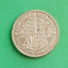 1929 George V Silver Half-Crown SNo42708