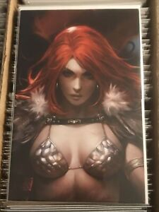 RED SONJA AGE OF CHAOS #1 DERRICK CHEW VIRGIN RATIO INCENTIVE VARIANT COVER 2020