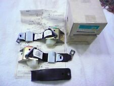78 79 80 81 82 Corvette Dark Red Lap Belts & Shoulder Harness---NOS---NCRS!