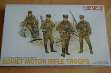 MINIATURAS MILITARES DRAGON 3005 SOVIET MOTOR RIFLE TROOPS 1:35