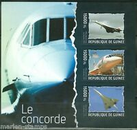 GUINEA 2014 THE CONCORDE  SHEET  MINT NH