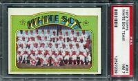 1972 Topps #381 White Sox Team Card PSA 7 NM