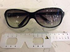 Prada SPR26A occhiale sole nuovo vintage anni 90' celluloide grigio sfumato