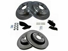 For 2006-2010 Jeep Commander Brake Pad and Rotor Kit Front and Rear 33854TM 2007