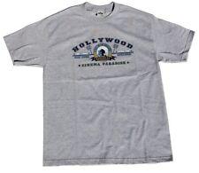 Hollywood City Cotton T-Shirt - Grey