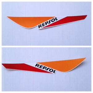 Honda CBR125 2011-2018 GENUINE Repsol Decal Sticker Left & Right Rear Fairing