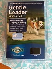 New listing New Gentle Leader Small up to 25 lbs Black - w/ Training Dvd - Ships Free!
