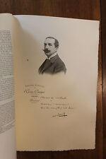Albert Carré Théâtre Figures Contemporaines Mariani Biographie 1904 1/150 ex.