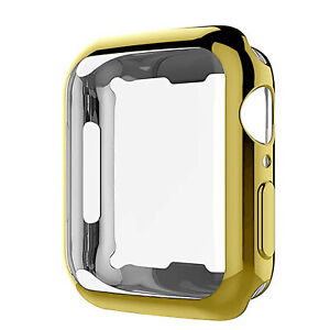 For Apple Watch iWatch SE 6 5 4 3 2 1 Silicone Soft Case Cover 44 42 40 38mm