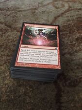 50 Bulk magic the gathering red common cards mtg Job Lot