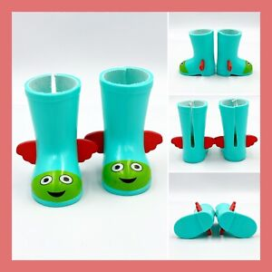 American Doll Wellie Wishers Camille's Teal Boots