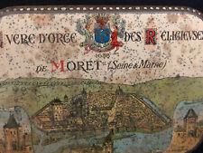 Sucre d'Orge des Religieuses de MORET en Seine & Marne Antique Box French