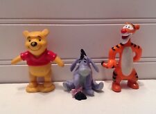 Disney Winnie The Pooh Figurines Lot Set Of 3