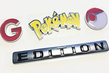 ‼️ POKEMON GO EMBLEM car TRUCK Decal Team Instinct Mystic Valor NOT sticker