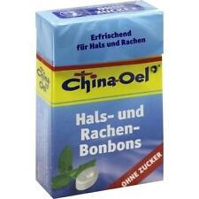 CHINA ÖL Hals- u.Hustenbonbons o.Zucker 40 g PZN 4635296