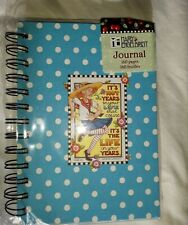 """Mary Engelbreit Journal, Notepad & Sticky Notes, polkadot, """"Life in your years"""""""