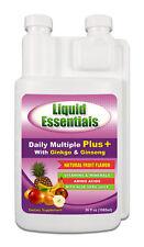 - Liquid Vitamins WHOLESALE CASE OF 12 BOTTLES Liquid Essentials Daily Multiple