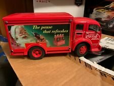 Danbury Mint 1955 COCA COLA Christmas DELIVERY TRUCK 1/24TH red