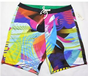 "NWT NEW Tommy Bahama Men MAUI ELECTRIC Relax 9"" Swim Trunks Board Shorts 38"