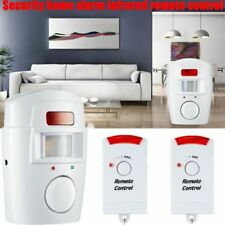 Home Alert 2 Remote Control Wireless Detector Security Anti-theft Alarm System