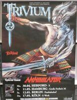 Trivium / Annihilator 60cm X 85cm (approximately) 2007   German Tour Poster