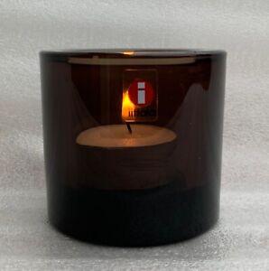 Iittala KIVI Marimmeko 60mm/2.36 In ch Votive Candle Holder Discontinued Sand