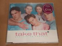 "TAKE THAT "" EVERYTHING CHANGES "" CD SINGLE 4 TRACKS EXCELLENT 1994"
